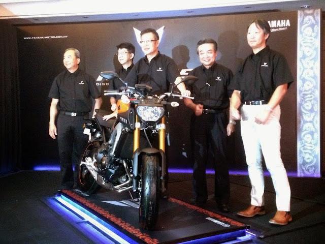 Yamaha MT-09 CBU Di Lancarkan Secara Rasmi Di Malaysia - Harga Asas RM 54,000
