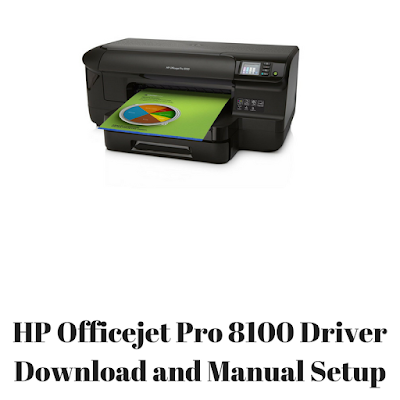 HP Officejet Pro 8100 Driver Download and Manual Setup