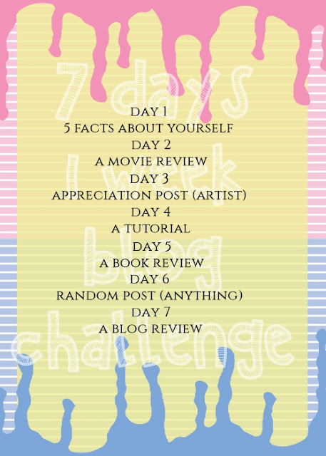 7 DAYS, 1 WEEK BLOG CHALLENGE - #5 A Book Review