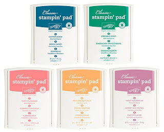 2016 - 2018 In Color Classic Stampin' Pads, Stampin' Up!