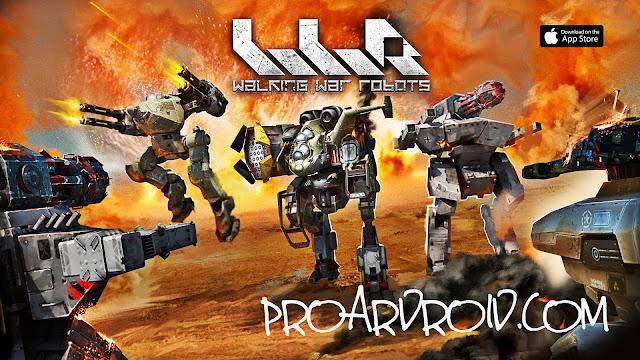 لعبة War Robots Apk v4.3.1 مهكرة كاملة للاندرويد (أخر اصدار) logo