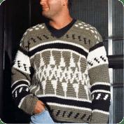 Suéter Hombre a crochet