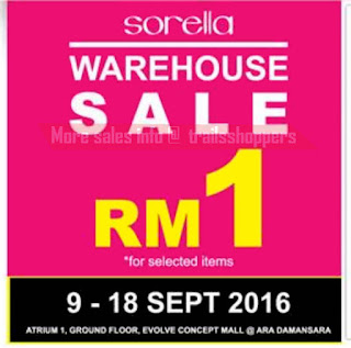 Sorella Lingerie Warehouse Sale 2016