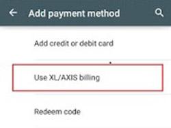 Menambahkan Metode Pembayaran Play Store