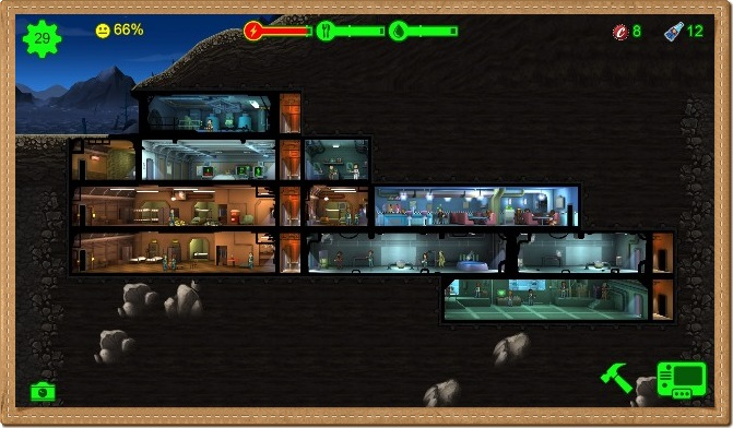 Fallout Shelter PC Games Gameplay
