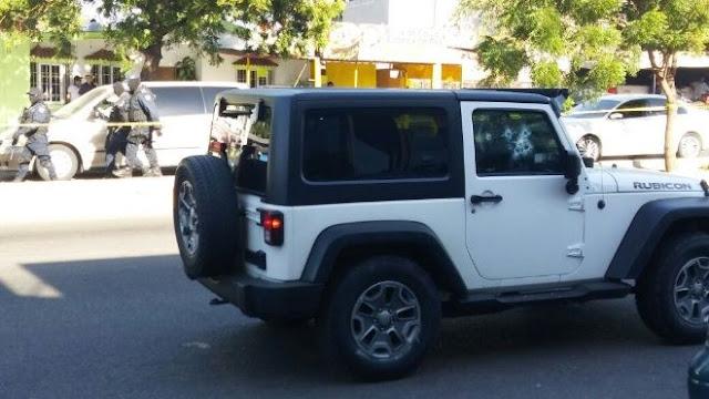 Acribillan a un hombre en Culiacán iba en una Jeep Rubicon
