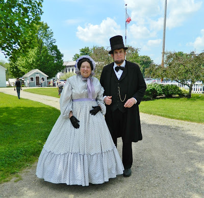 Abraham Lincoln and Mary Todd Lincoln
