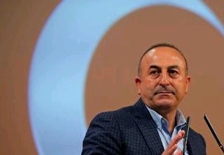 Le ministre turc des Affaires étrangères, Mevlüt Cavusoglu