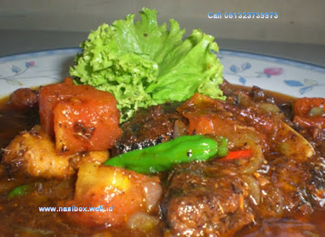 Resep sarden lezat nasi box cimanggu ciwidey