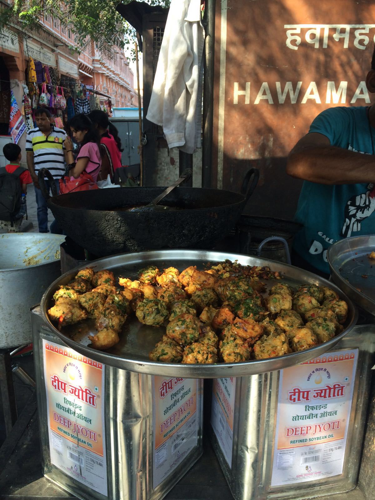 Street food in the Pink City