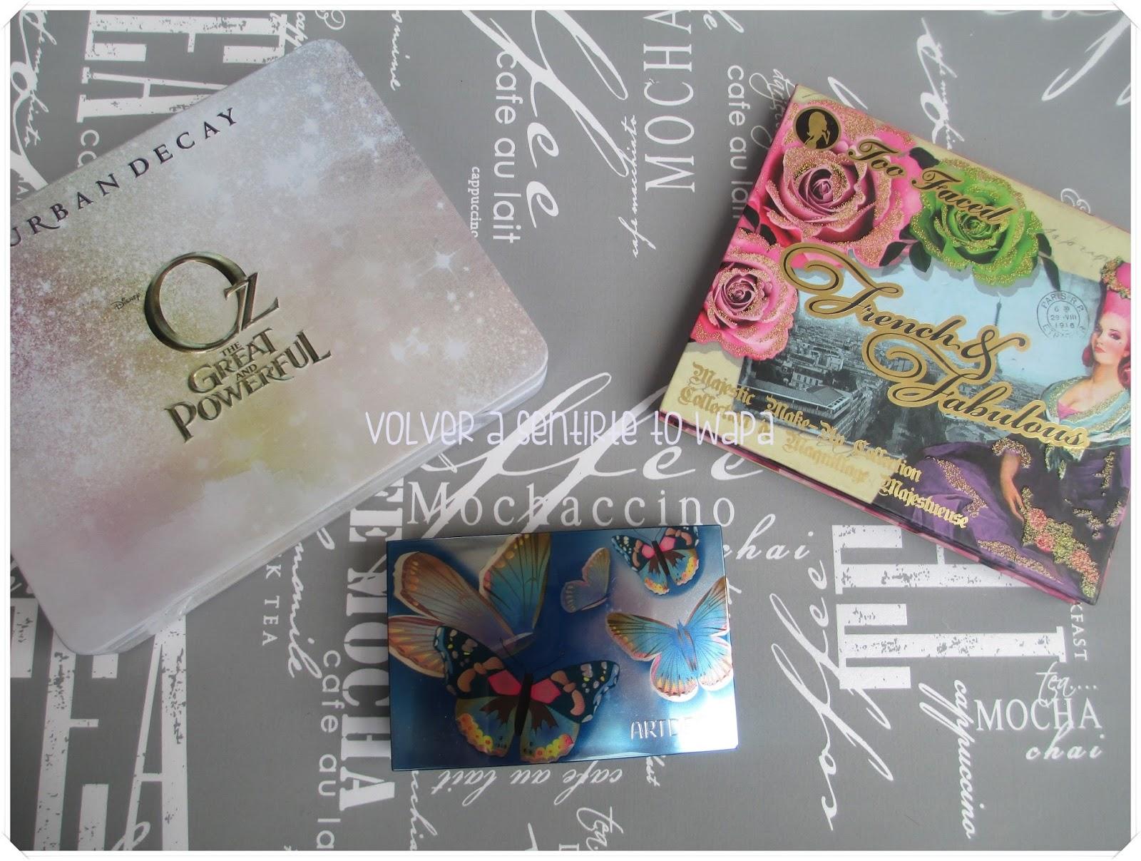 #retobestpackagins - los productos más bonitos - paletas de sombras