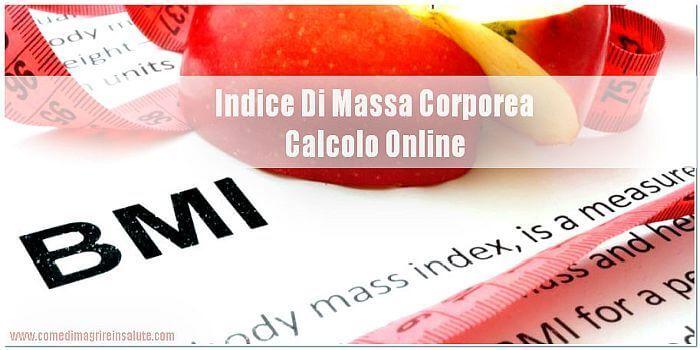 Indice Di Massa Corporea Calcolo Online