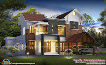 2300 Square Feet Awesome Kerala House Design Home