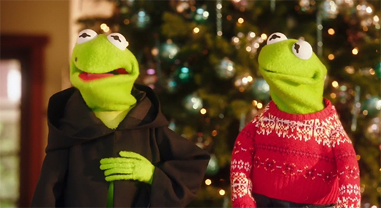 A Very Pentatonix Christmas.Muppetshenson Video Kermit And Constantine On A Very