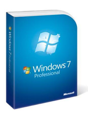 embalagem do Windows 7