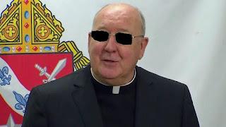 Cardinal Farrell (blind)