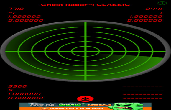 Aplicativo Ghost Radar Classic