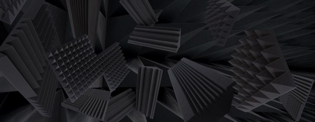 Acoustic Foam   Wedge Foam, Pyramid Foam, manufacturer & Supplier