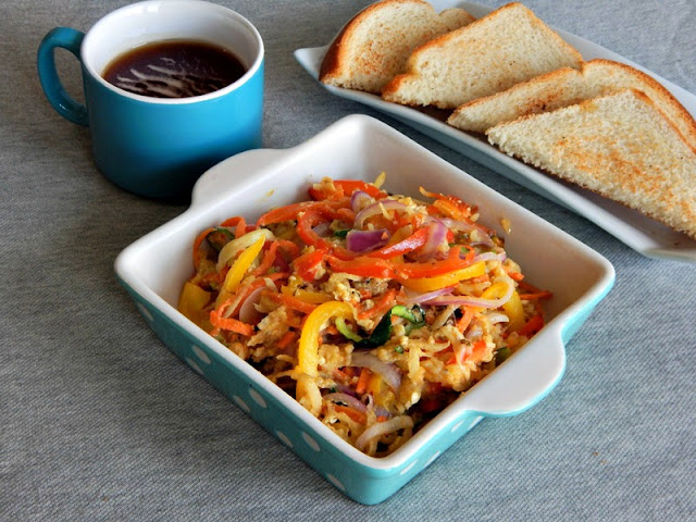 Baked Vegetable Noodles