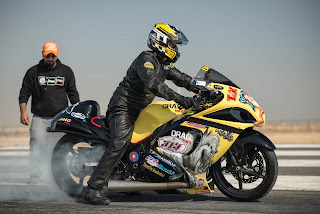 Qatar Mile - biggest land-speed festival in the middle east