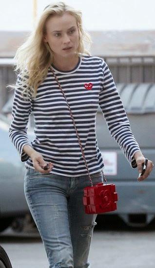 d7b50d8a43472 VagaBond Nyc  Need Now  Comme des Garçons Play Breton Striped T-Shirt