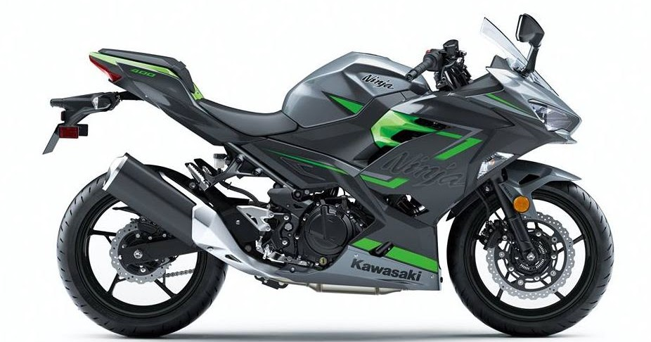 Kawasaki Launches 2019new Colors For The Successful Ninja 400 In