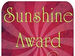 A Sunshine Award for a Brighter Day!
