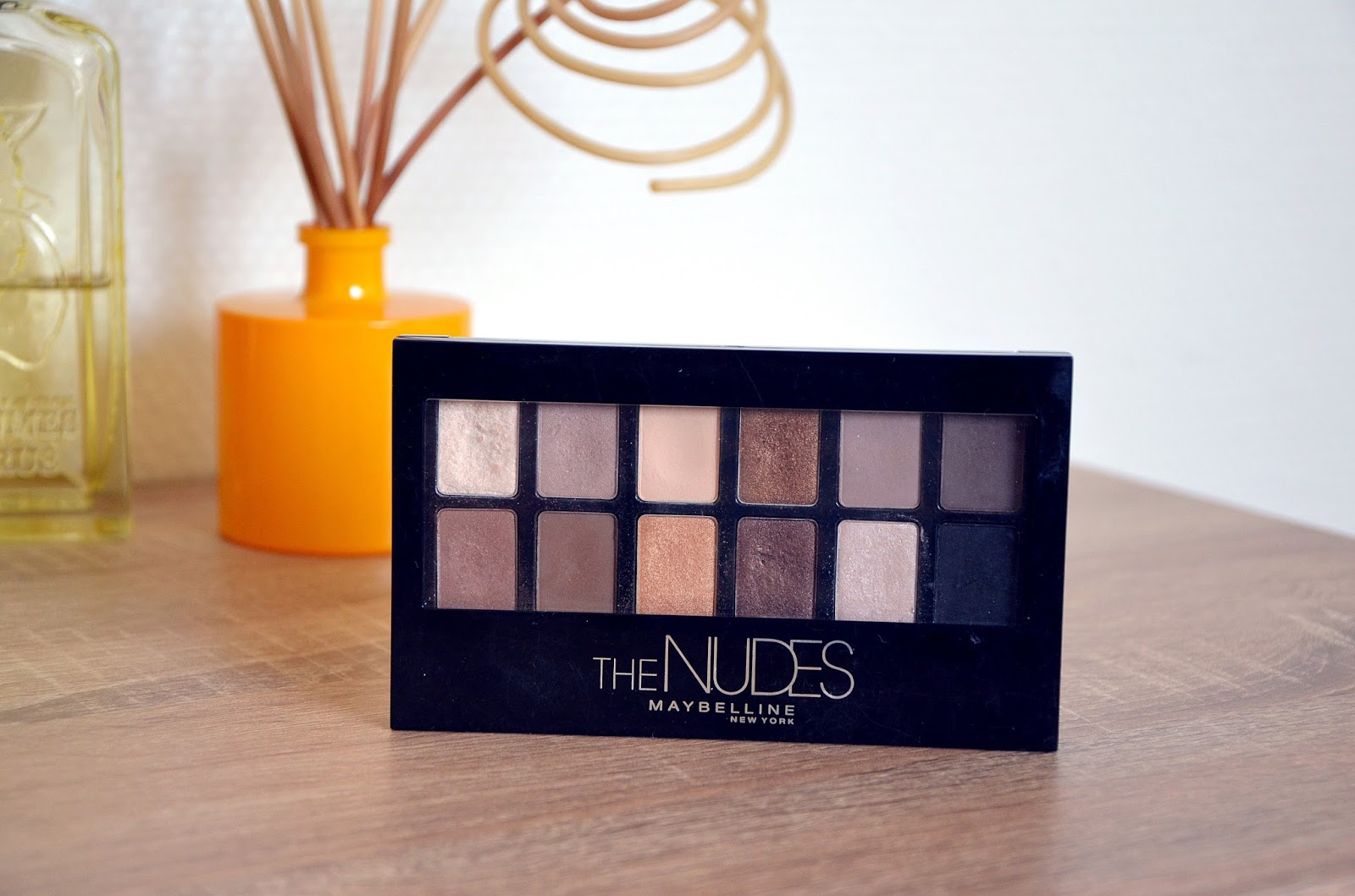 TAG mes 7 pêchés capitaux beauté palette The Nudes Maybelline New-York