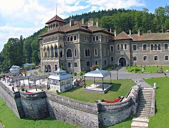 castelul cantacuzino busteni intrare parc de aventuri