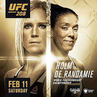 Free UFC 208 Fight Video Holly Holm Germaine de Randamie