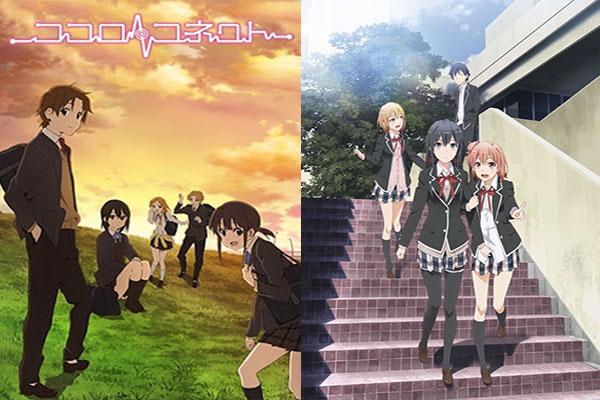 Anime yang mirip Oregairu - Kokoro Connect
