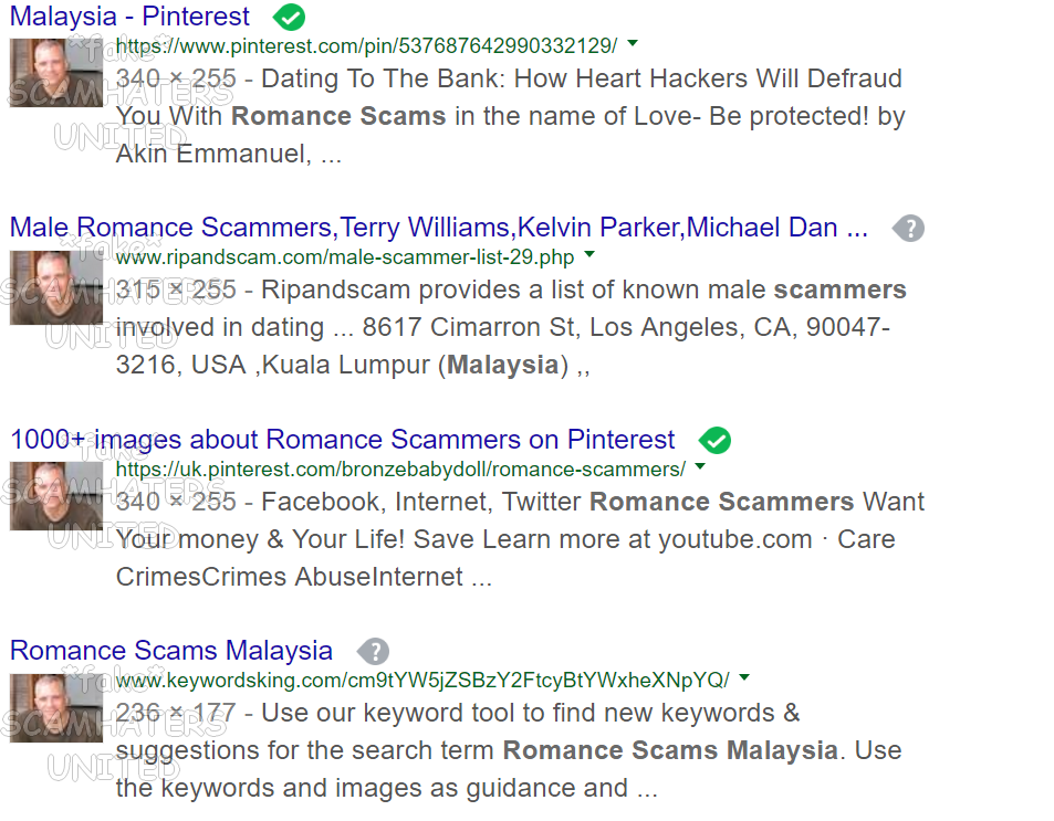 Malaysia internet dating scams