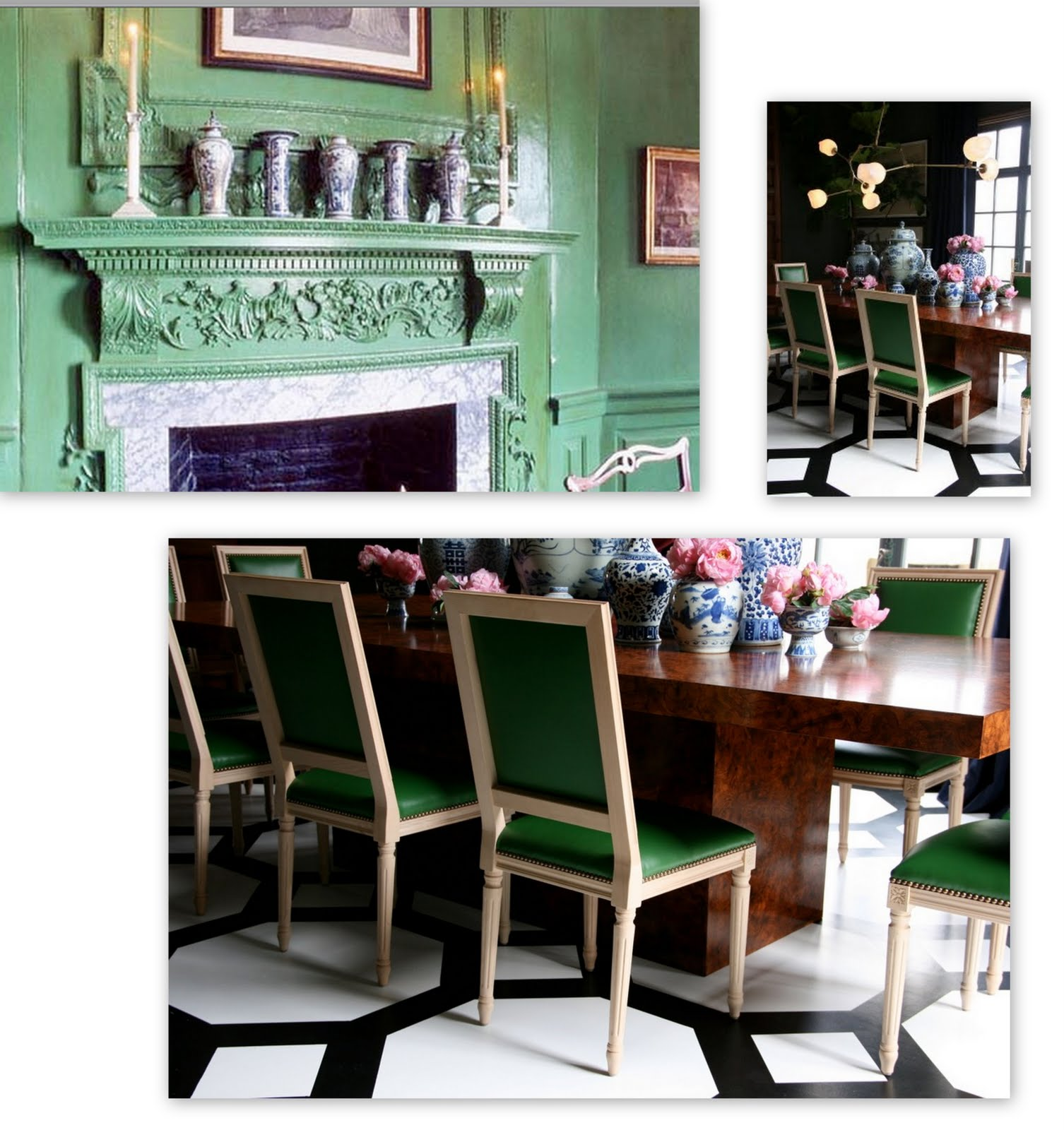 Mount Vernon Dining Room: Style Court: Dining With The Greens