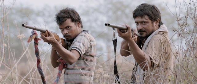 Subrat Dutta (right) and Nalneesh Neel in III Smoking Barrels
