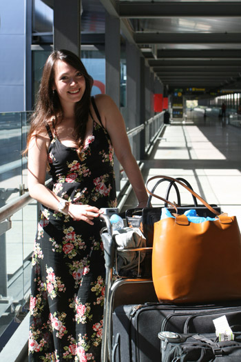 outfit aeropuerto madrid