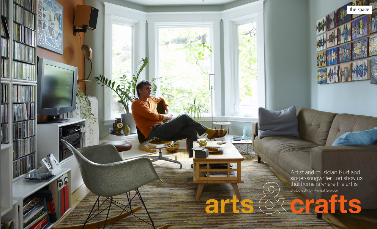 Arts And Crafts Style Living Room: The Arts And Crafts Style Home Of An Artist And Musician