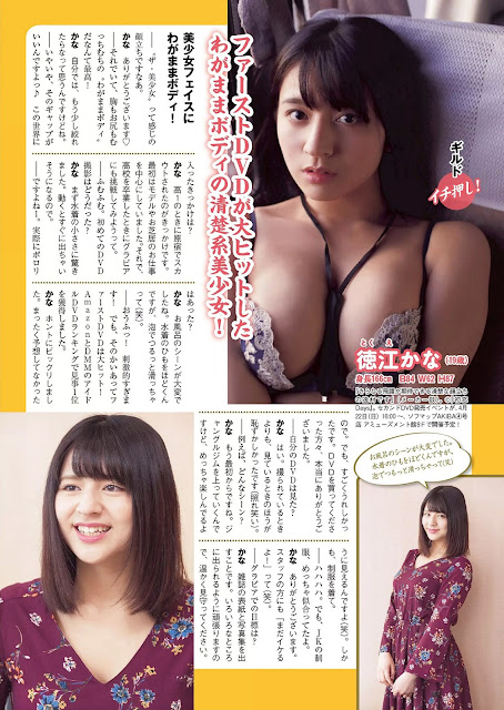 Gravure Idol Daimeikan Weekly Playboy No 17 2018