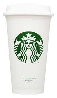 STARBUCKS CERAMIC TO GO MUG