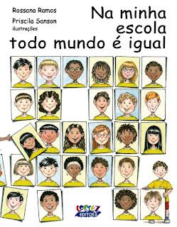 Resultado de imagem para livro na minha escola todo mundo é igual