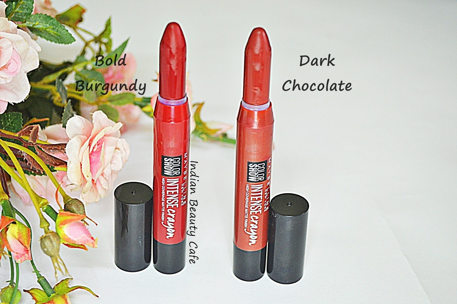 cb9068e5636 Indian Beauty Cafe  Maybelline Color Show Intense Crayon