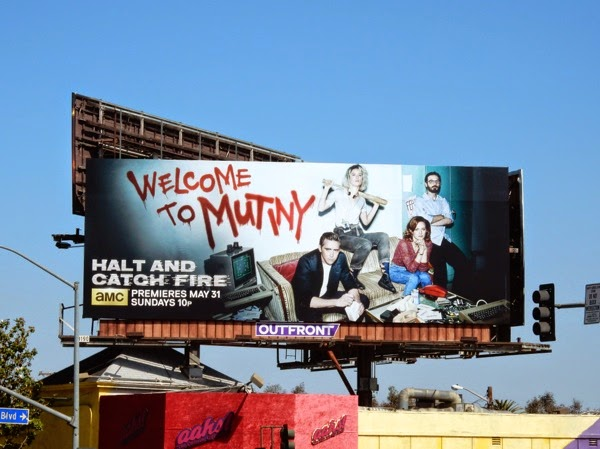 Halt and Catch Fire Welcome to Mutiny billboard