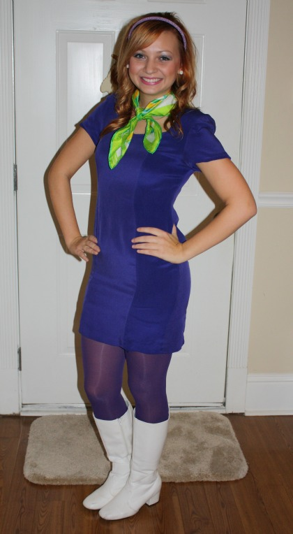Halloween Daphne Blake. Dress Goodwill $4.99  sc 1 st  Goodwillista & Goodwillista: Halloween: Daphne Blake