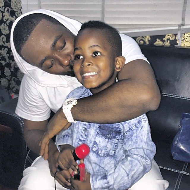 Olamide shares new photo of his growing son, see 10 other