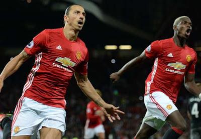 United Tanpa Ibrahimovic Pada Derby Manchester