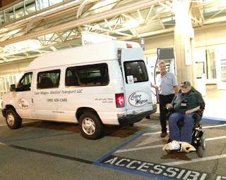 Wounded Warrior Finds Care Wagon Medical Transport For 2:00 AM Transportation