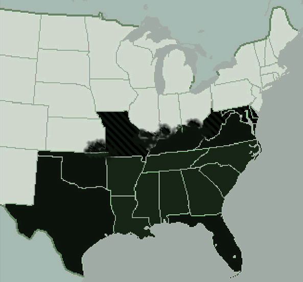 Where Is the American South?