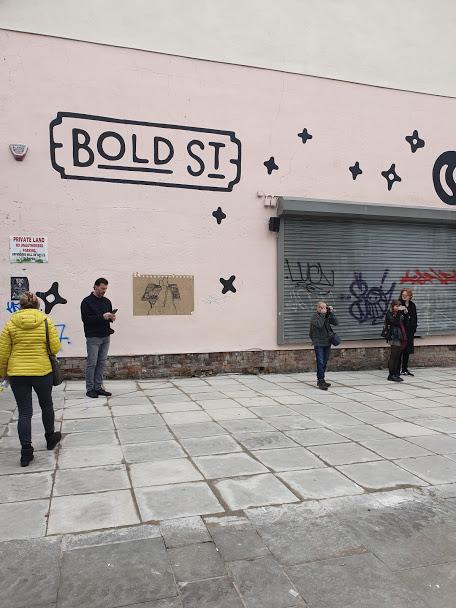 bold street pink wall
