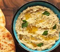 Baba Ganoush - Pasta de Berinjela (vegana)