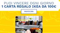 Logo Concorso Paglieri ''Profumo di casa'' vinci subito 92 carte regalo Ikea da 100 euro