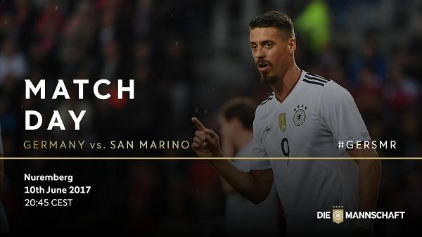 Jerman vs San Marino